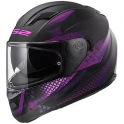 Мотошлем LS2 FF320 Stream Lux Violet/Black Mat