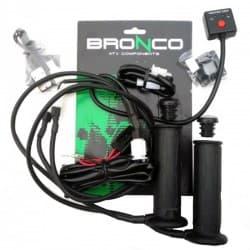Грипсы руля с подогревом Bronco AT-08318-1 ATV Black