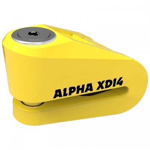 Мотозамок Oxford XD14 Yellow