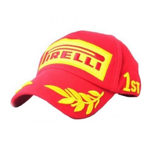 Бейсболка Motorace FLK-91 (Pirelli) Red