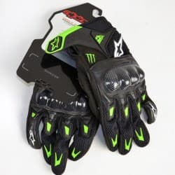 кожаные мотоперчатки alpinestars