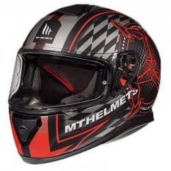 Мотошлем MT Thunder 3 SV Isle of man Red/Black