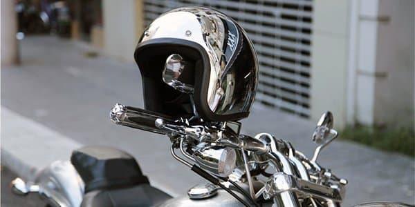 Мотошлем полулицевик для скутера, мопеда