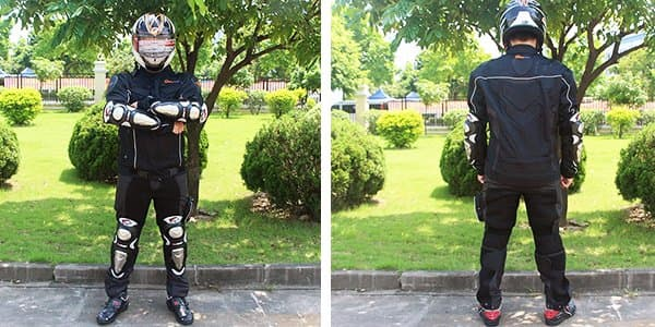 Комплект защиты для мотоциклиста