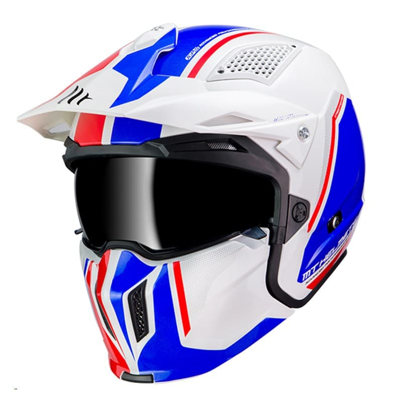 MT Streetfighter SV Twin White/Blue/Red