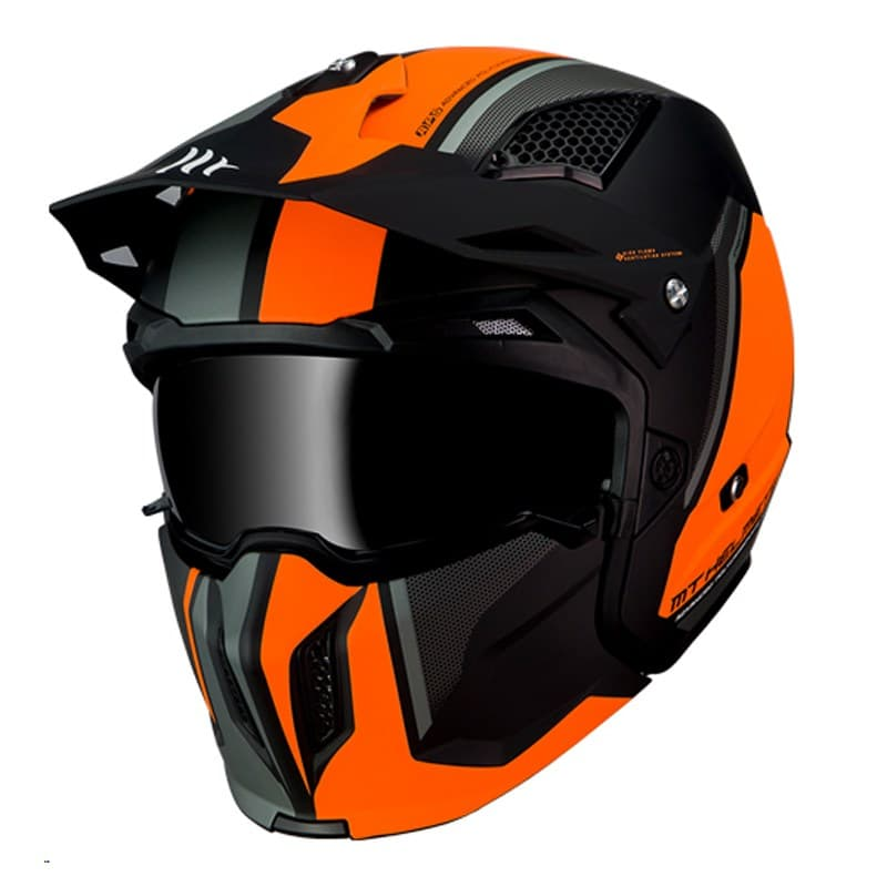 MT Streetfighter SV Twin Black/Orange