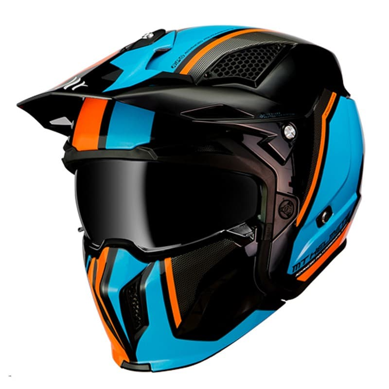 MT Streetfighter SV Twin Black/Blue/Orange