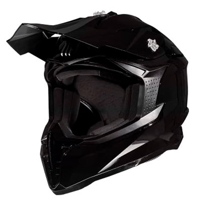 Мотошлем MT Falcon Solid black gloss