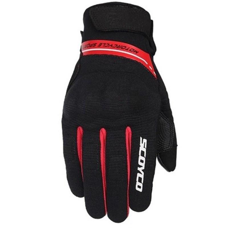 Мотоперчатки Scoyco MC75 Red
