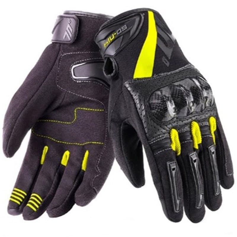 Мотоперчатки Seventy SD-N14 Summer Naked Black/Yellow
