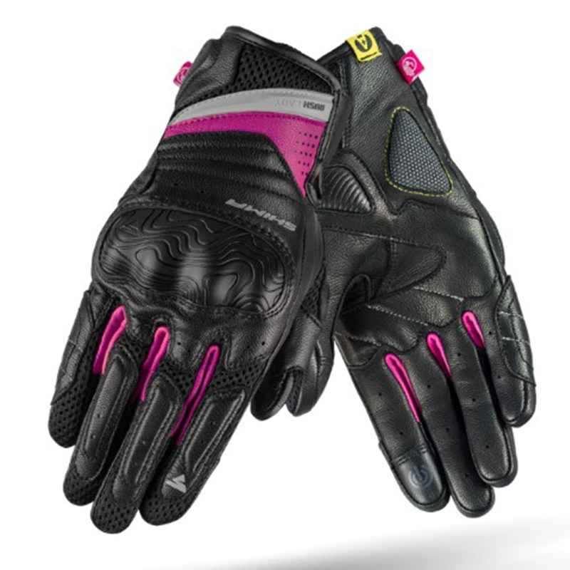 Мотоперчатки Shima Rush Lady Black/Pink