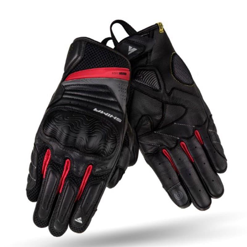 Мотоперчатки Shima Rush Black/Red