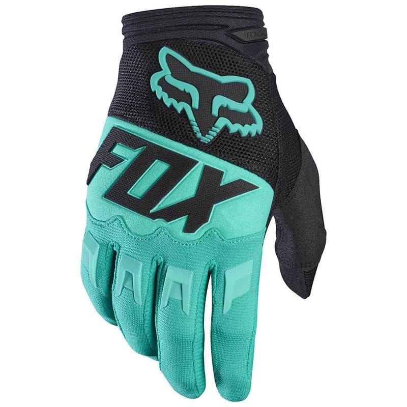 Мотоперчатки FOX Dirtpaw Green/Black