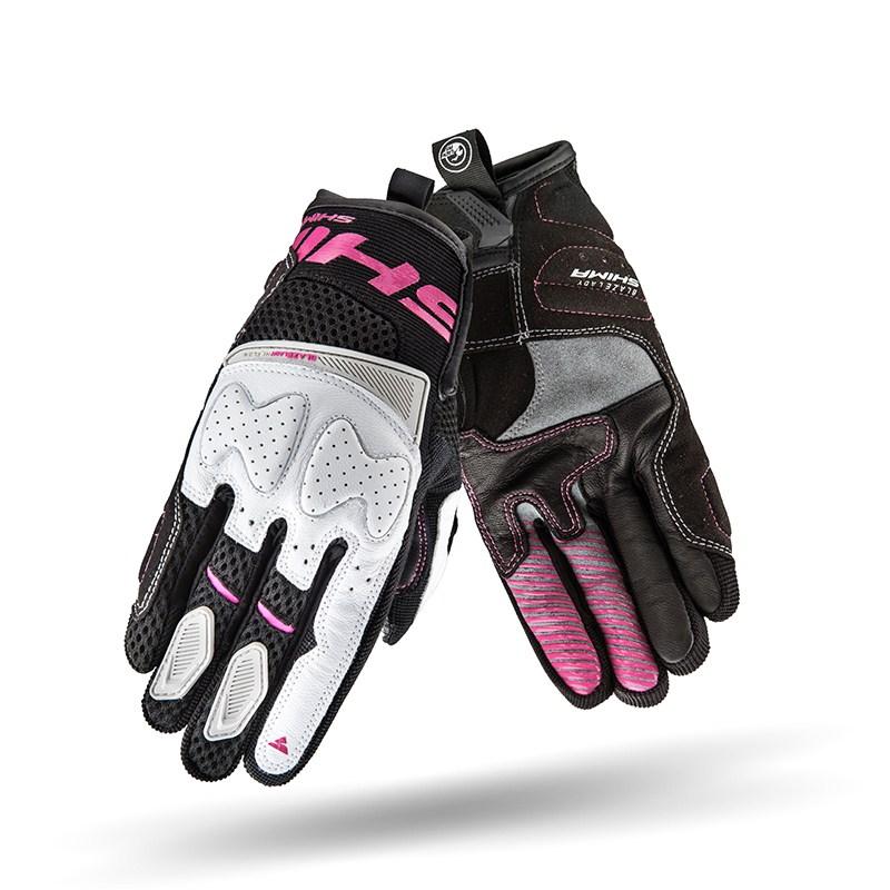 Мотоперчатки Shima Blaze Lady Black/Pink