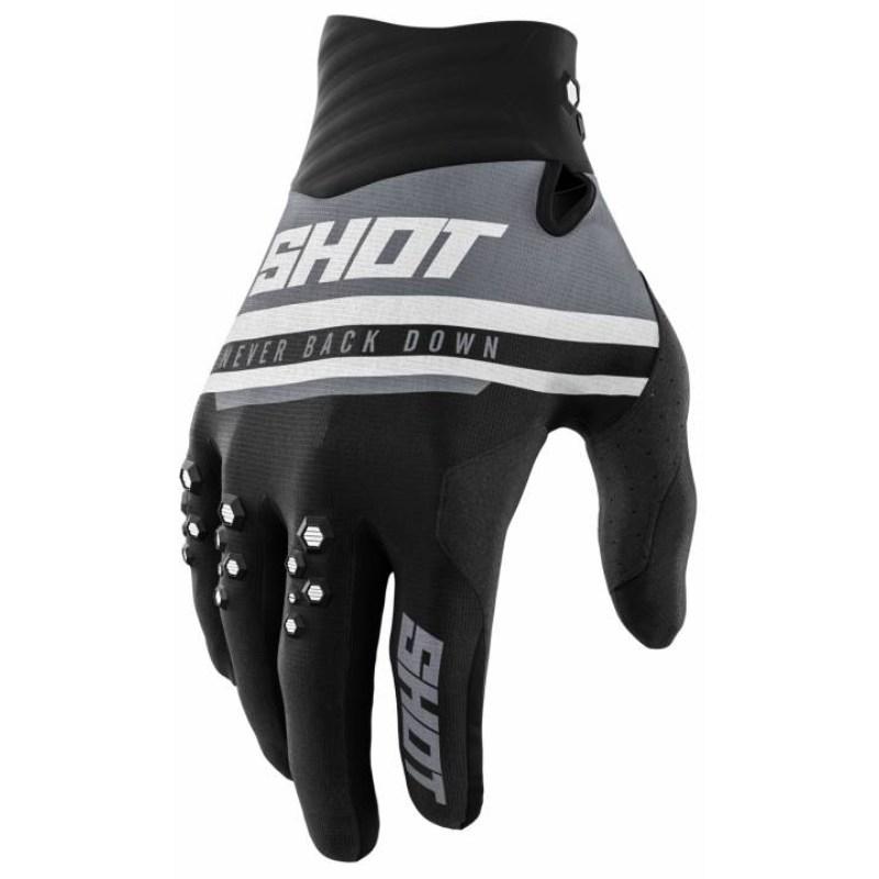 Мотоперчатки Shot Racing Contact Shining Black