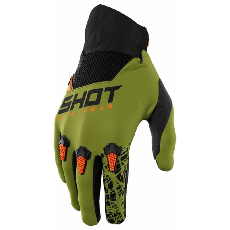 Мотоперчатки Shot Racing Devo Storm Khaki