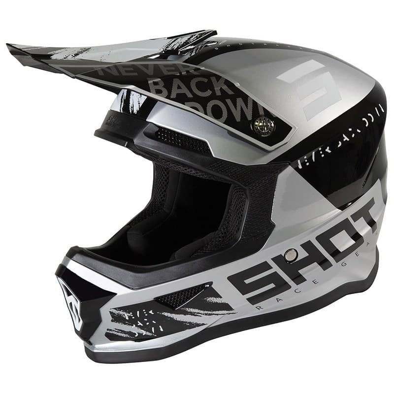 Шлем Shot Racing Furious Draw Kid Black/Grey