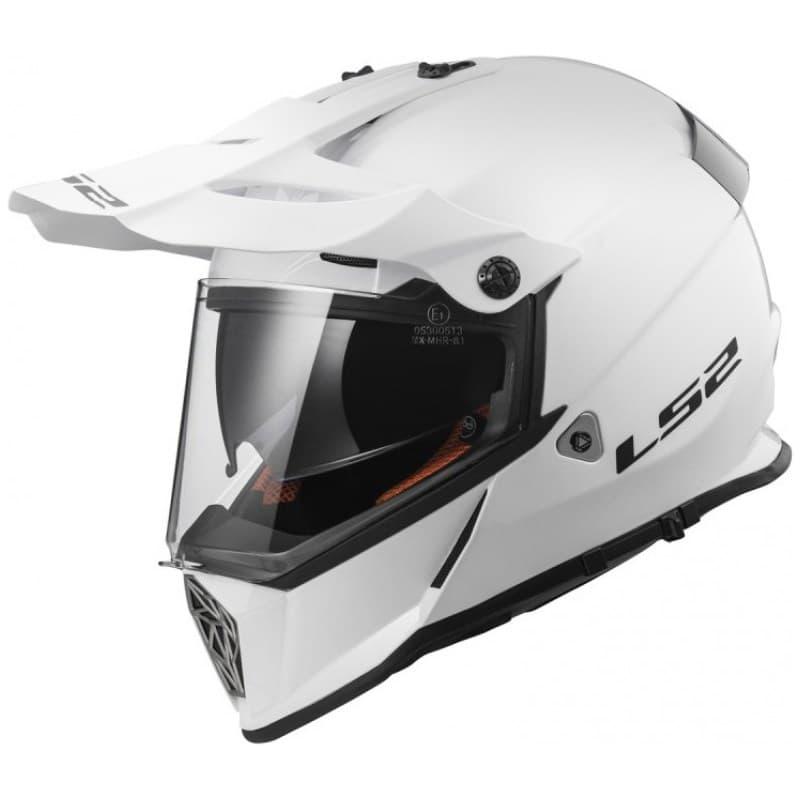 Мотошлем LS2 MX436 Pioneer EVO White