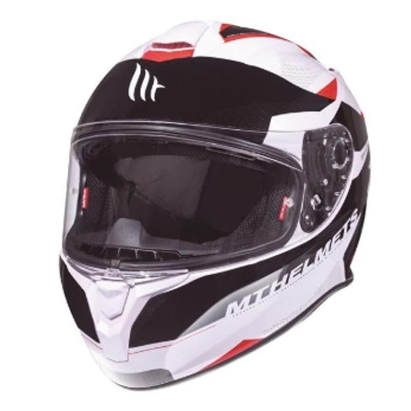 Мотошлем MT Targo Enjoy White/Black/Red