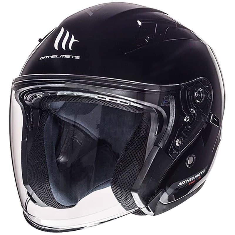 Шлем MT Jet Avenue SV Solid Black Gloss