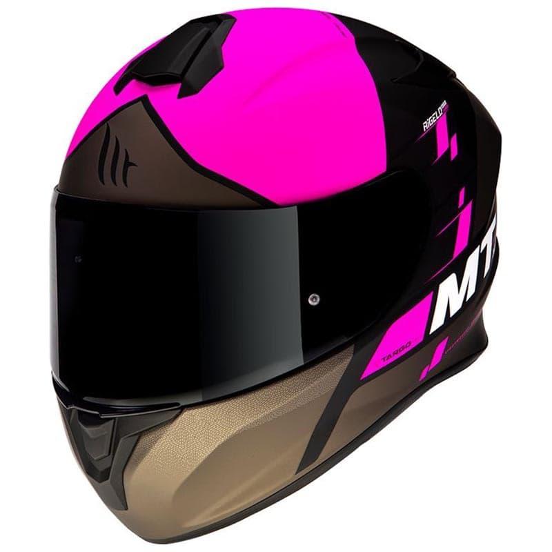 Шлем MT Targo Rigel Pink-Black-Brown