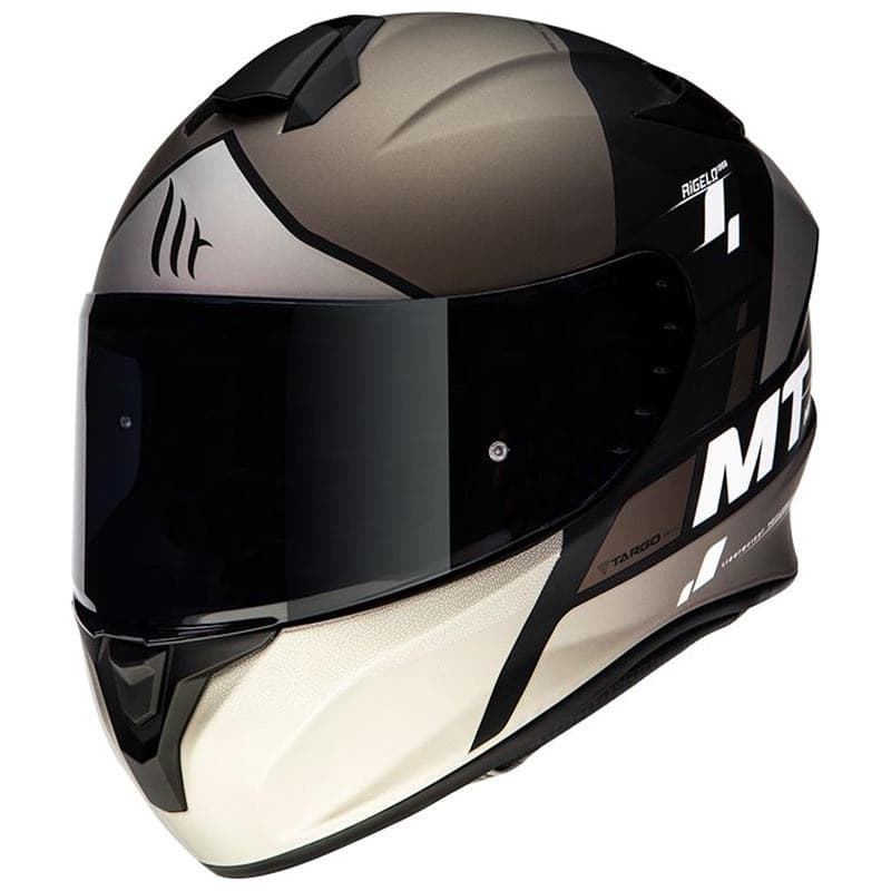 Шлем MT Targo Rigel Grey-Black-White