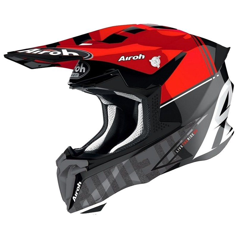 Мотошлем Airoh Twist 2.0 Tech Red