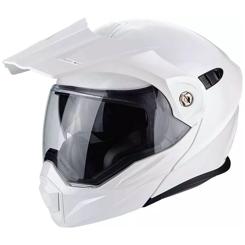 Мотошлем Scorpion ADX-1 Solid White