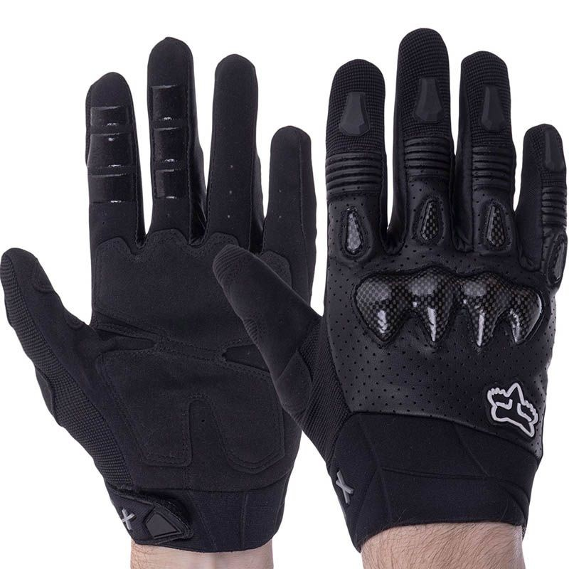 Мотоперчатки FOX F02 Black
