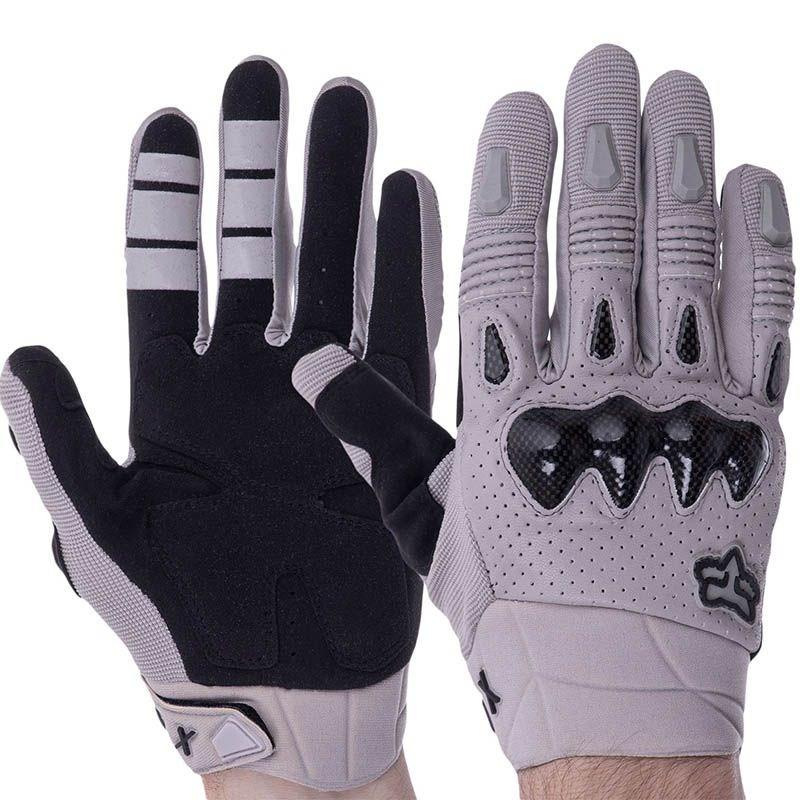 Мотоперчатки FOX F02 Grey