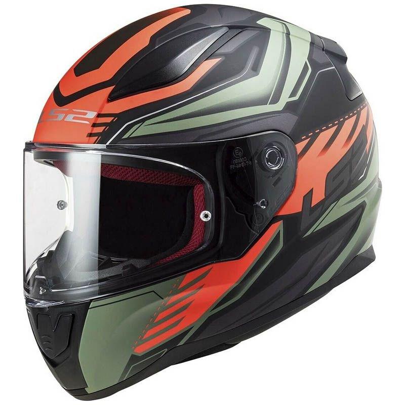 Шлем LS2 FF353 Rapid Gale Black/Red
