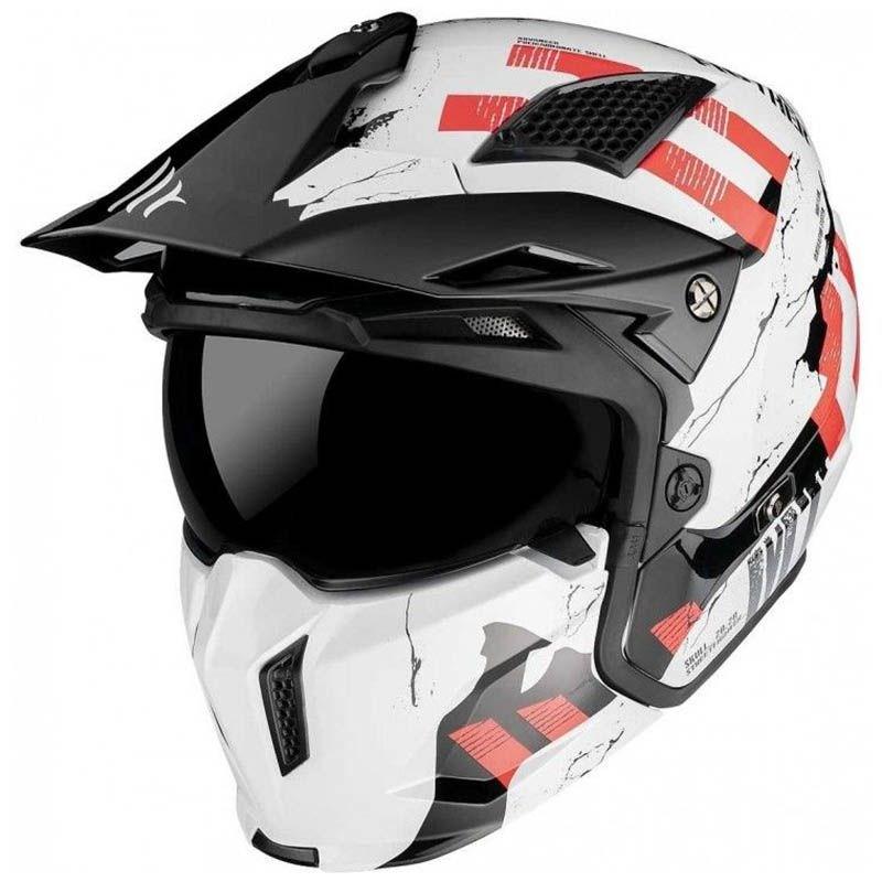 Шлем MT Streetfighter SV Skull White