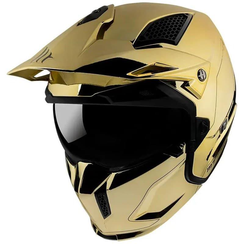 Мотошлем MT Streetfighter SV Chromed Gold
