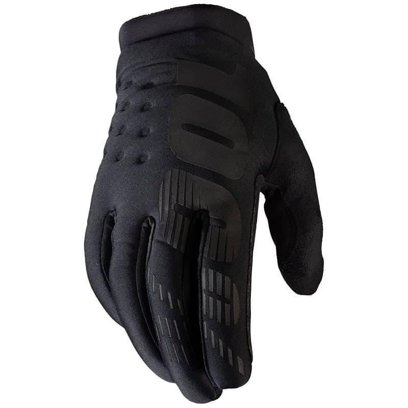 Мотоперчатки Ride 100% Brisker Cold Weather Black