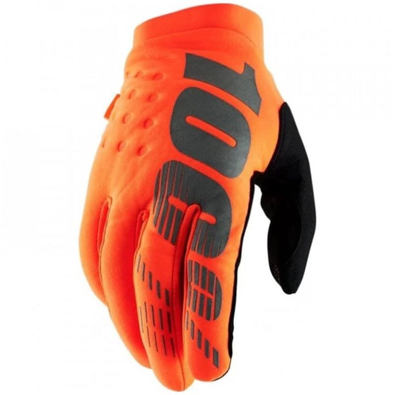 Мотоперчатки Ride 100% Brisker Cold Weather Fluo Orange/Black